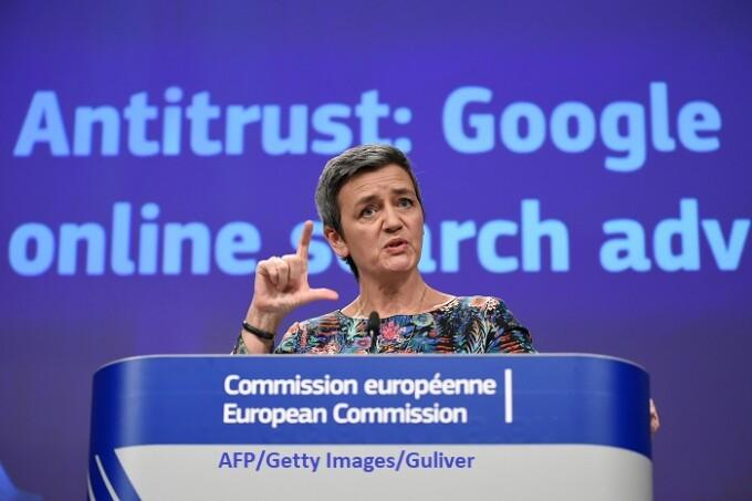 Margrethe Vestager, comisarul european în domeniul concurenţei - Getty