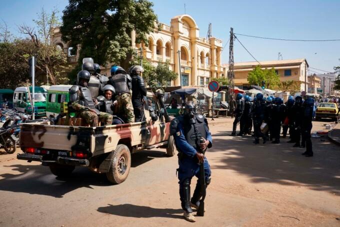politie mali