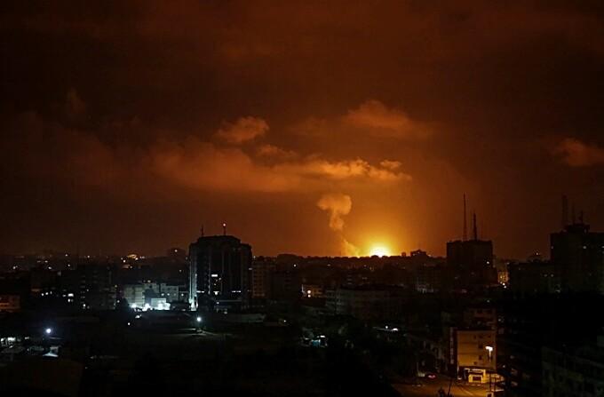 Israelul a atacat Fâşia Gaza