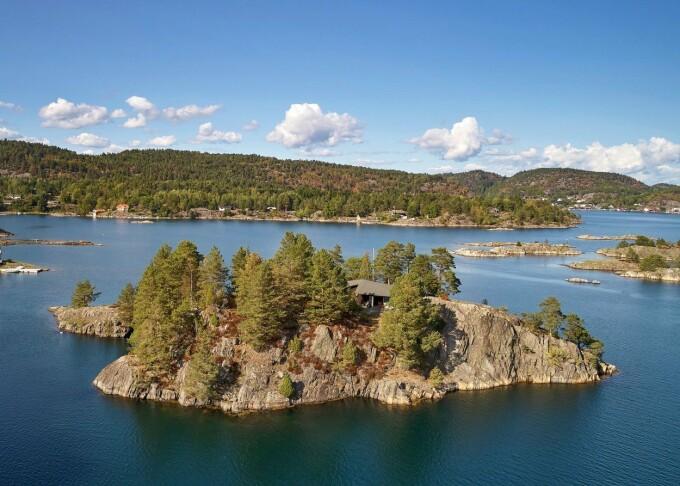 Insulă privată cu o singură casă, scoasă la vânzare în Norvegia. - 8