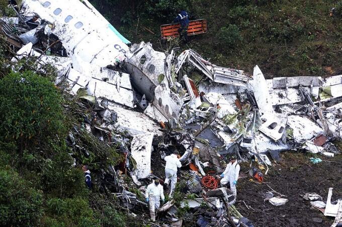 Catastrofa aviatică din Brazilia, din 2016