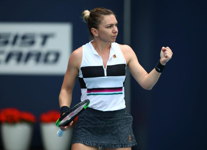 Simona Halep, la Miami Open