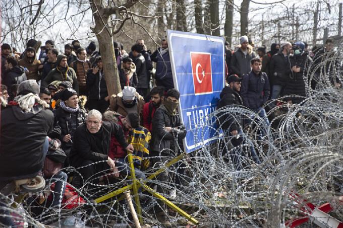 migranți Turcia - Grecia - 12