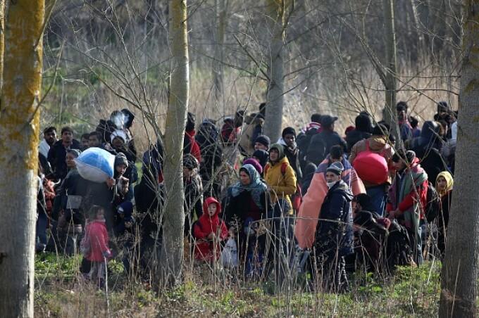 Erdogan acuză Grecia de uciderea a doi migranţi la frontiera cu Turcia