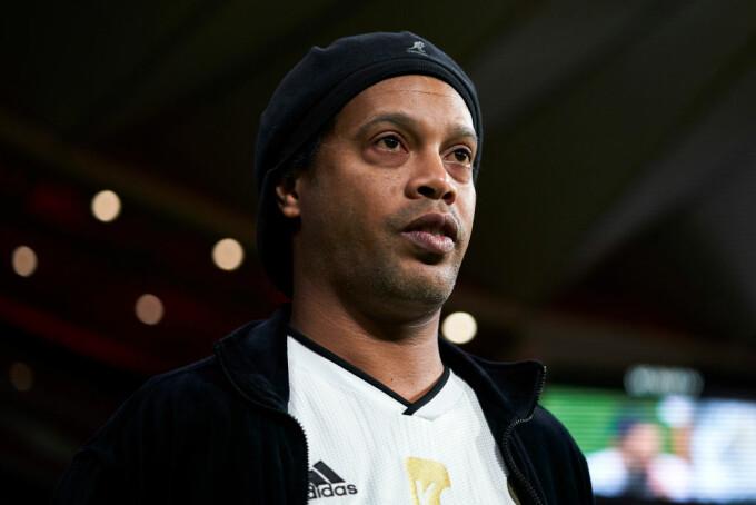 Ronaldinho a câștigat un turneu de fotbal în închisoare