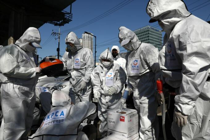 masuri impotriva epidemiei de coronavirus, in Coreea de Sud
