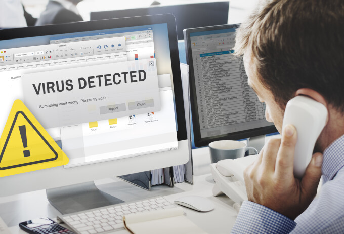 Virus computer