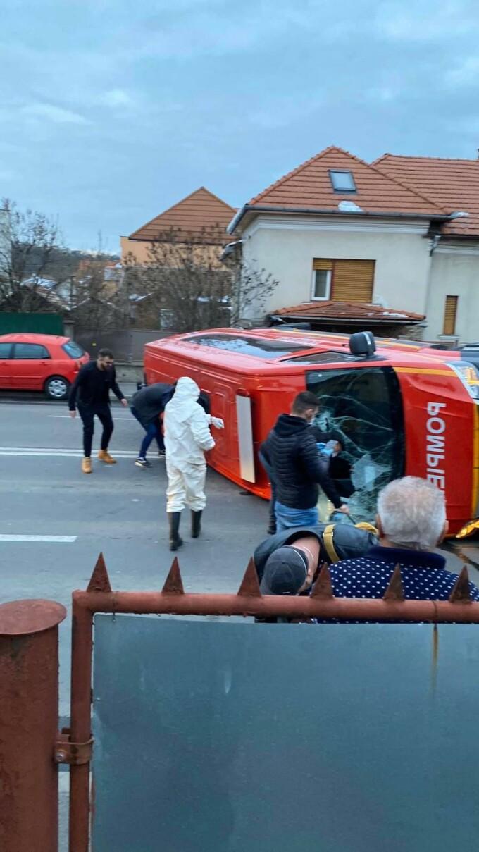 microbuz accident