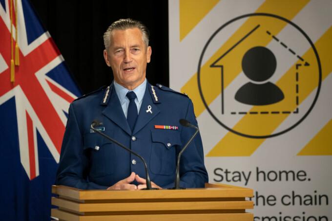 Un site creat pentru ca oamenii să-i pârască pe cei care ies din izolare este atât de popular încât a căzut după lansare, a spus Mike Bush, șeful Poliției din Noua Zeelandă