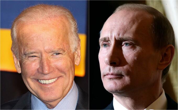 Vladimir Putin, Joe Biden