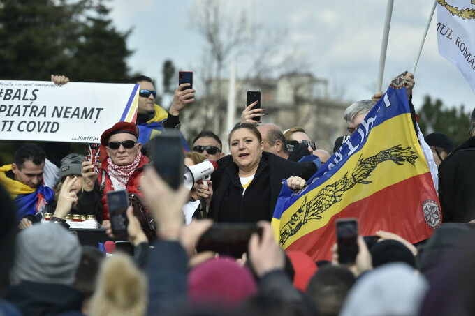Protest în București - 7