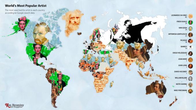 Leonardo da Vinci este cel mai căutat artist pe Google în 2020. Care este motivul