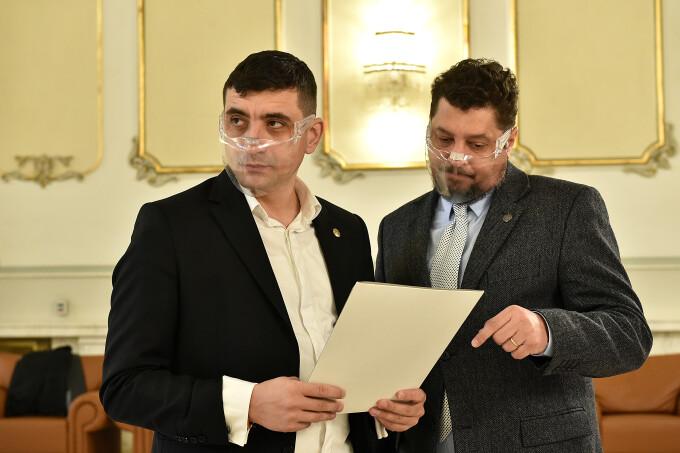 Copreşedintele AUR, senatorul Claudiu Târziu