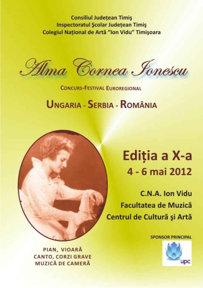"""Festivalul Euroregional """"Alma Cornea Ionescu"""""""
