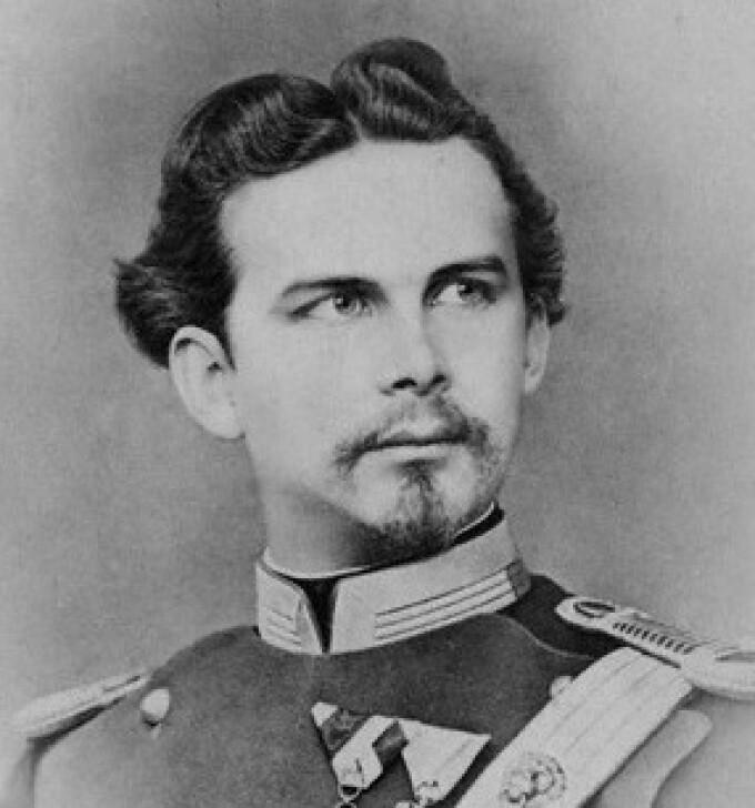 Regele Ludwig al II-lea al Bavariei