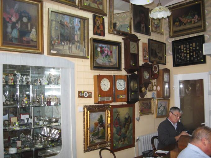 magazin antichitati
