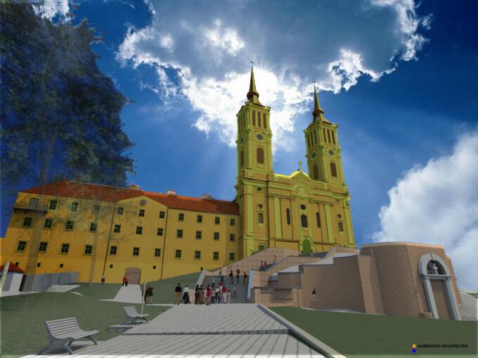 Manastirea Radna dupa reabilitare
