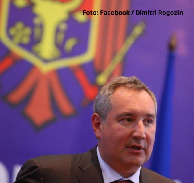 DImitri Rogozin in Republica Moldova