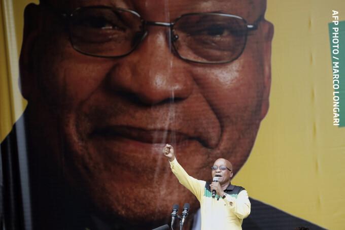 Jacob Zuma presedintele Africii de Sud
