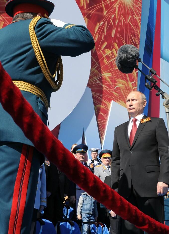 Vladimir Putin, la Parada de 9 Mai