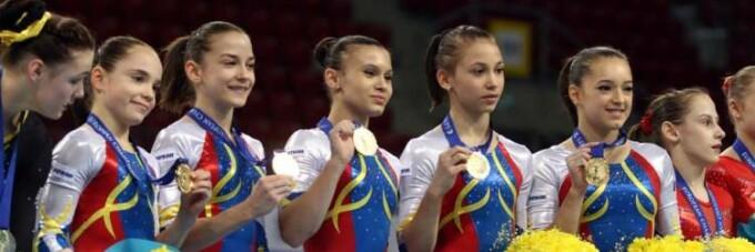 Echipa Nationala de Gimnastica - campioana la Sofia