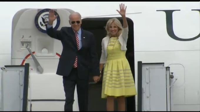 Vicepresedintele american Joe Biden, la Bucuresti