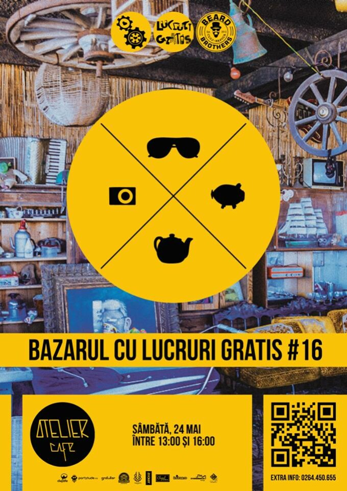 Bazarul cu lucruri gratis ajunge in weekend la Cluj-Napoca
