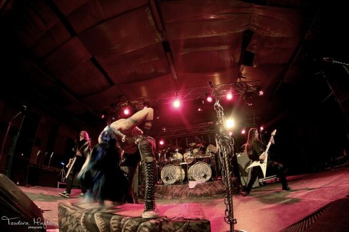 Concert Arch Enemy 2014 - 7