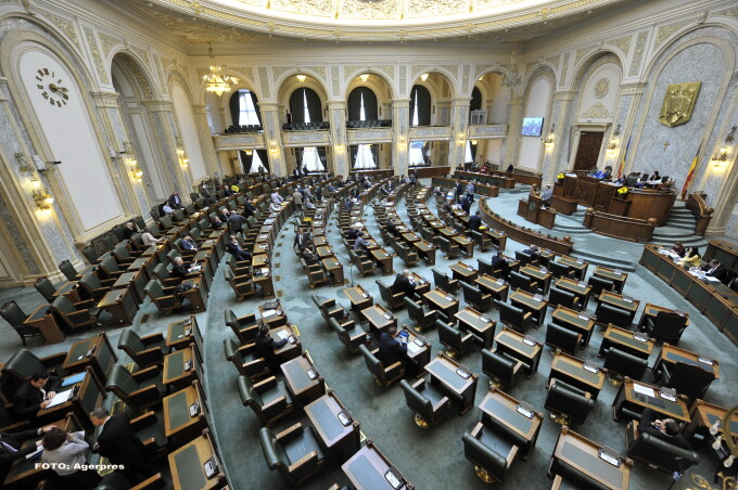 Senatul Romaniei - AGERPRES