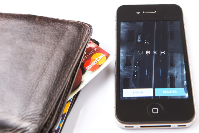 Uber, lege, shutterstock