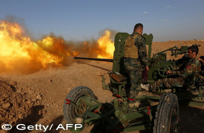 lupte irak - Getty/ AFP