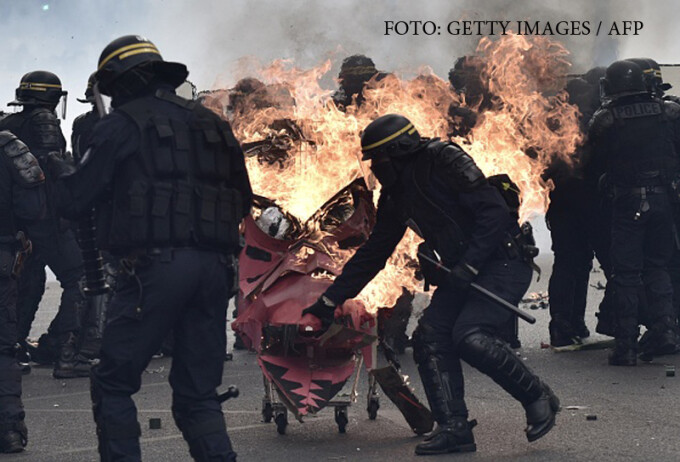 proteste paris
