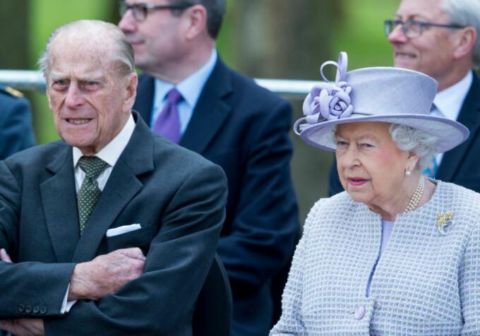 Regina Elisabeta, printul Philip - Getty