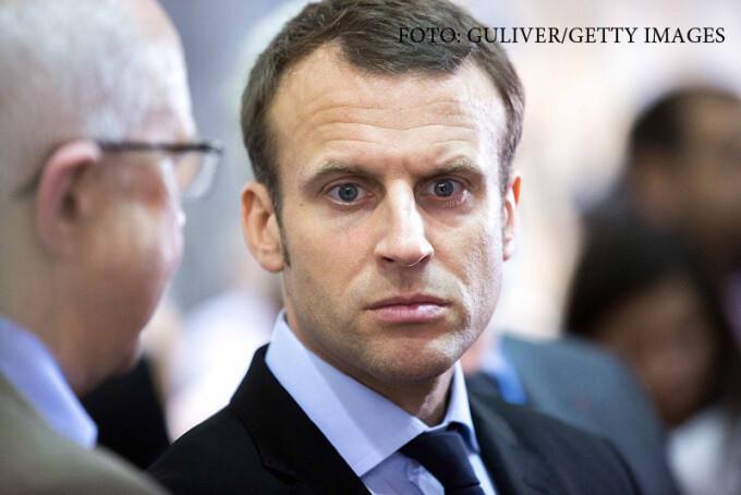Emmanuel Macron in 2016