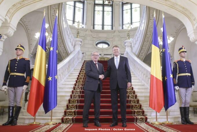 Jean-Claude Juncker, Klaus Iohannis