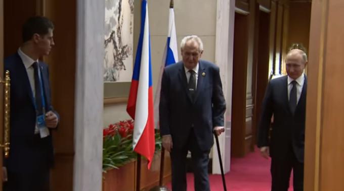 Vladimir Putin, Miloš Zeman, china,