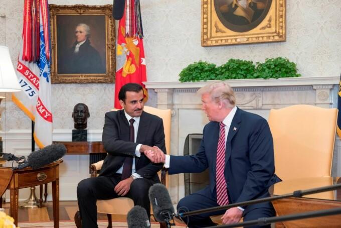 Trump si Al Thani