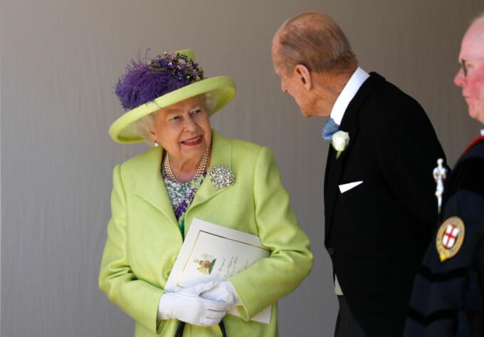 Regina Elisabeta si printul Phillip