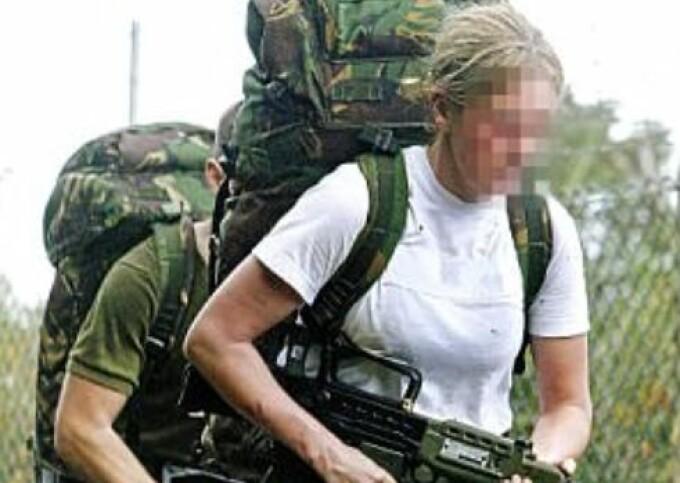 femeie, armata, infanterie, marea britanie