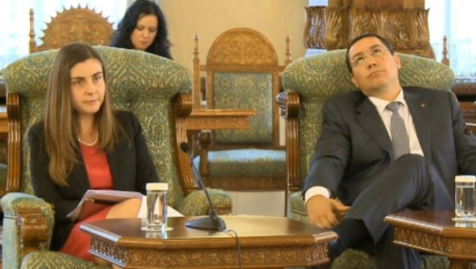 Victor Ponta, Ioana Petrescu, MTO