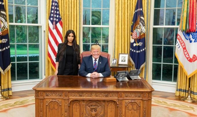 kim kardashian, donald trump,