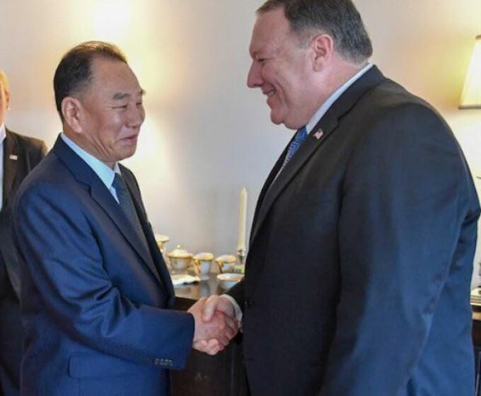 Kim Yong Chol, Mike Pompeo, Kim Jong-un