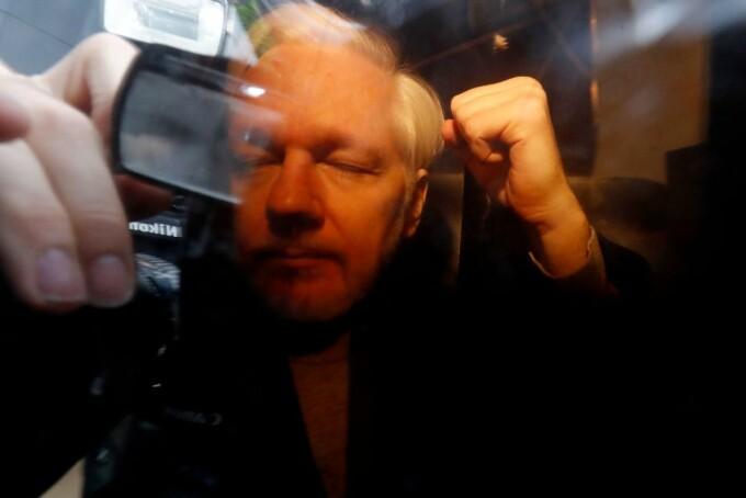Julian Assange la tribunal