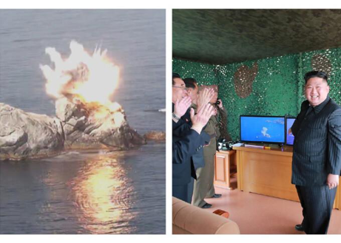 Kim Jong-un supervizează testele nord-coreene cu rachete şi alte tipuri de arme - 10