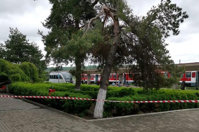 Alertă în gara Bârlad