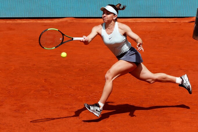 Simona Halep la Madrid Open