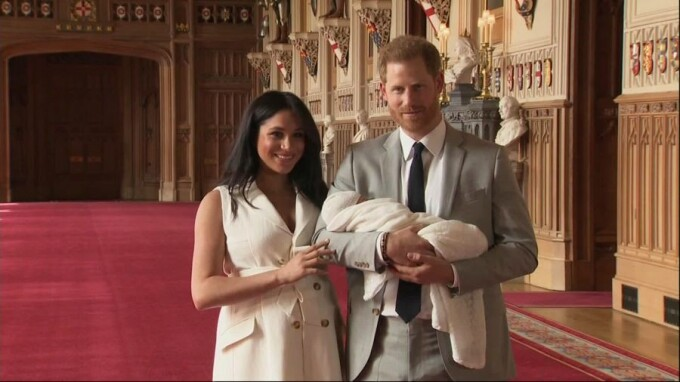 Bebelusul lui Harry si Meghan Markle