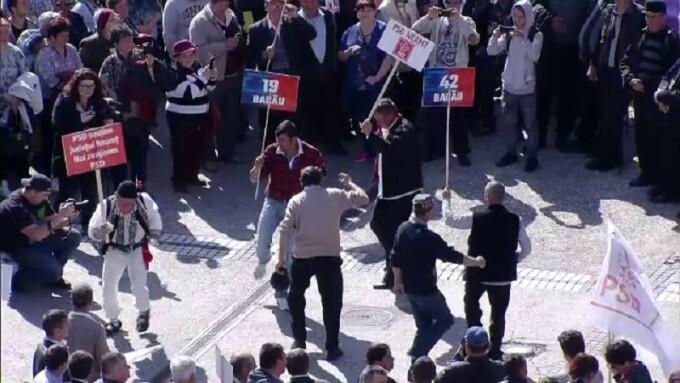 Miting PSD la Iași