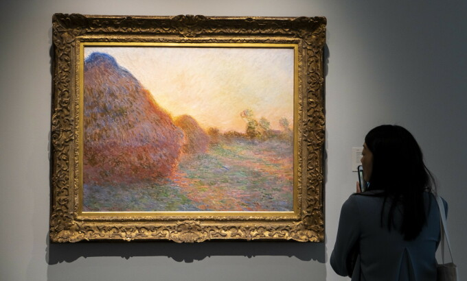 Claude Monet, Meules