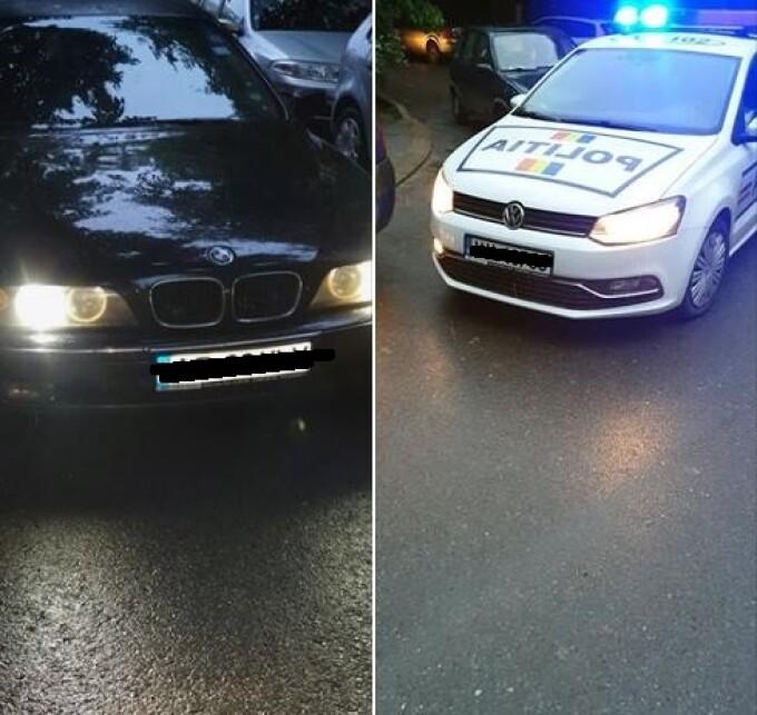 Polițiști acuzați de șicanare în trafic